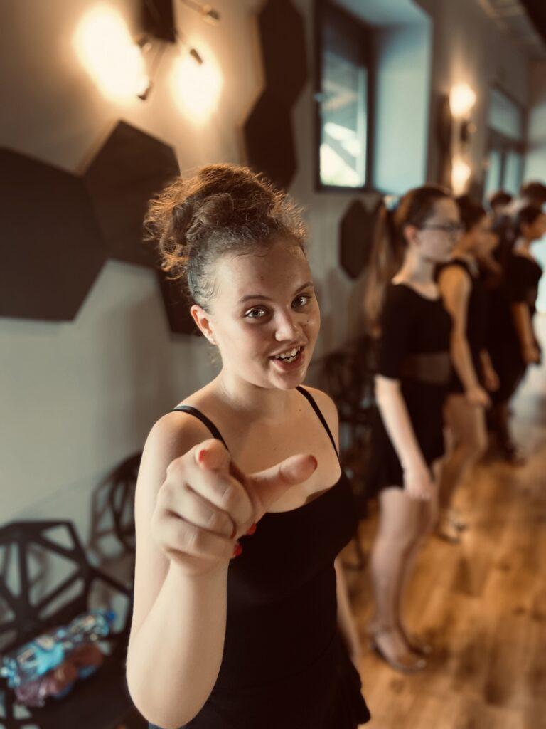 Obóz sportowy All About taniec towarzyski szczecin Wiktoria Witkowska